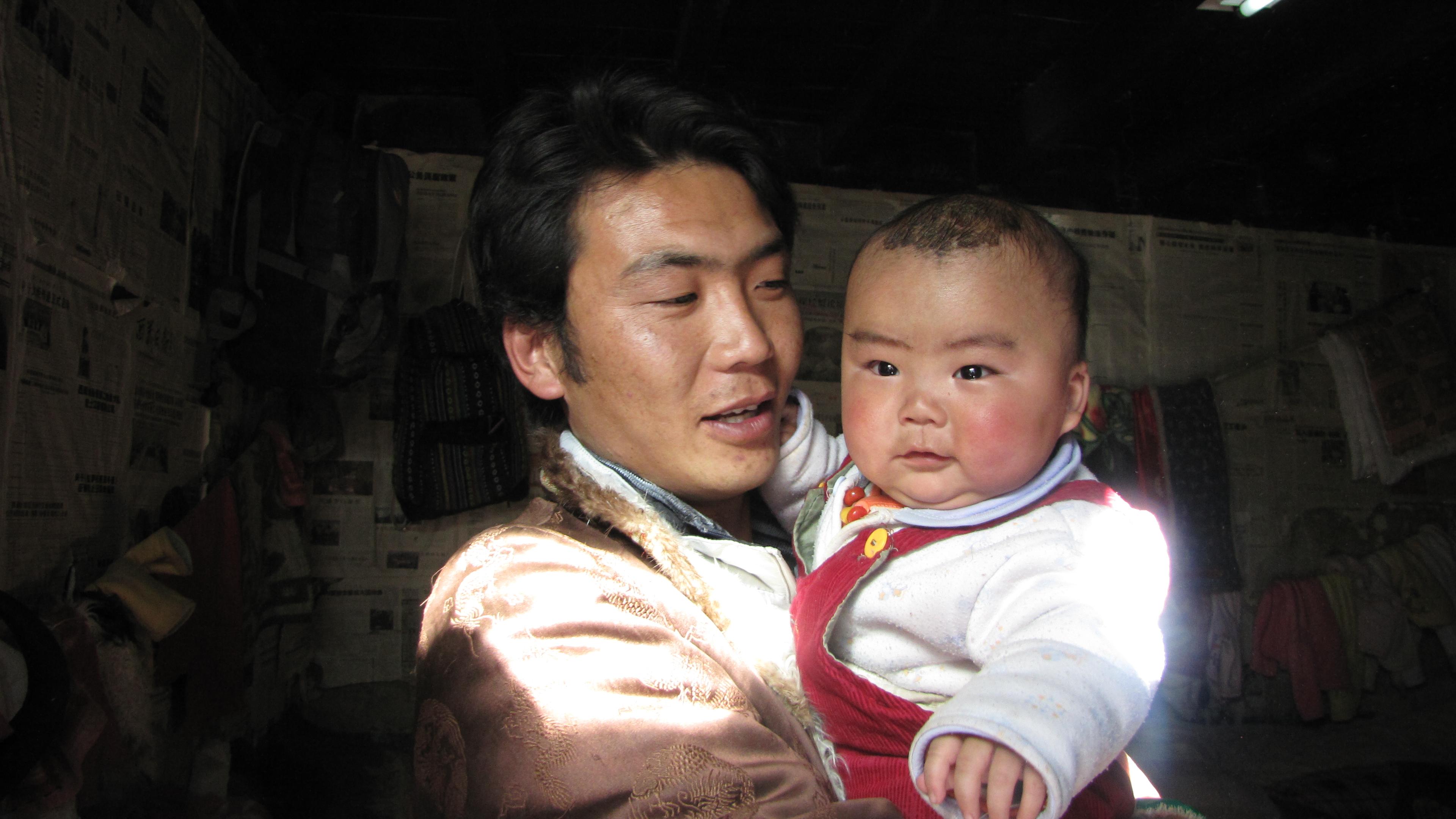 A Pendeba and his son